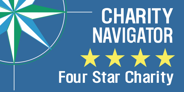4-star Charity Navigator logo